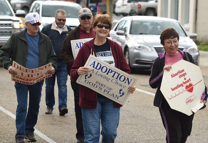 St. Landry Parish Right to Life March
