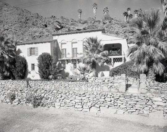 A 1949 photograph of the former home of Roland Bishop. The recently renovated home has been converted into guest accommodations as an expansion of the neighboring Willows hotel.