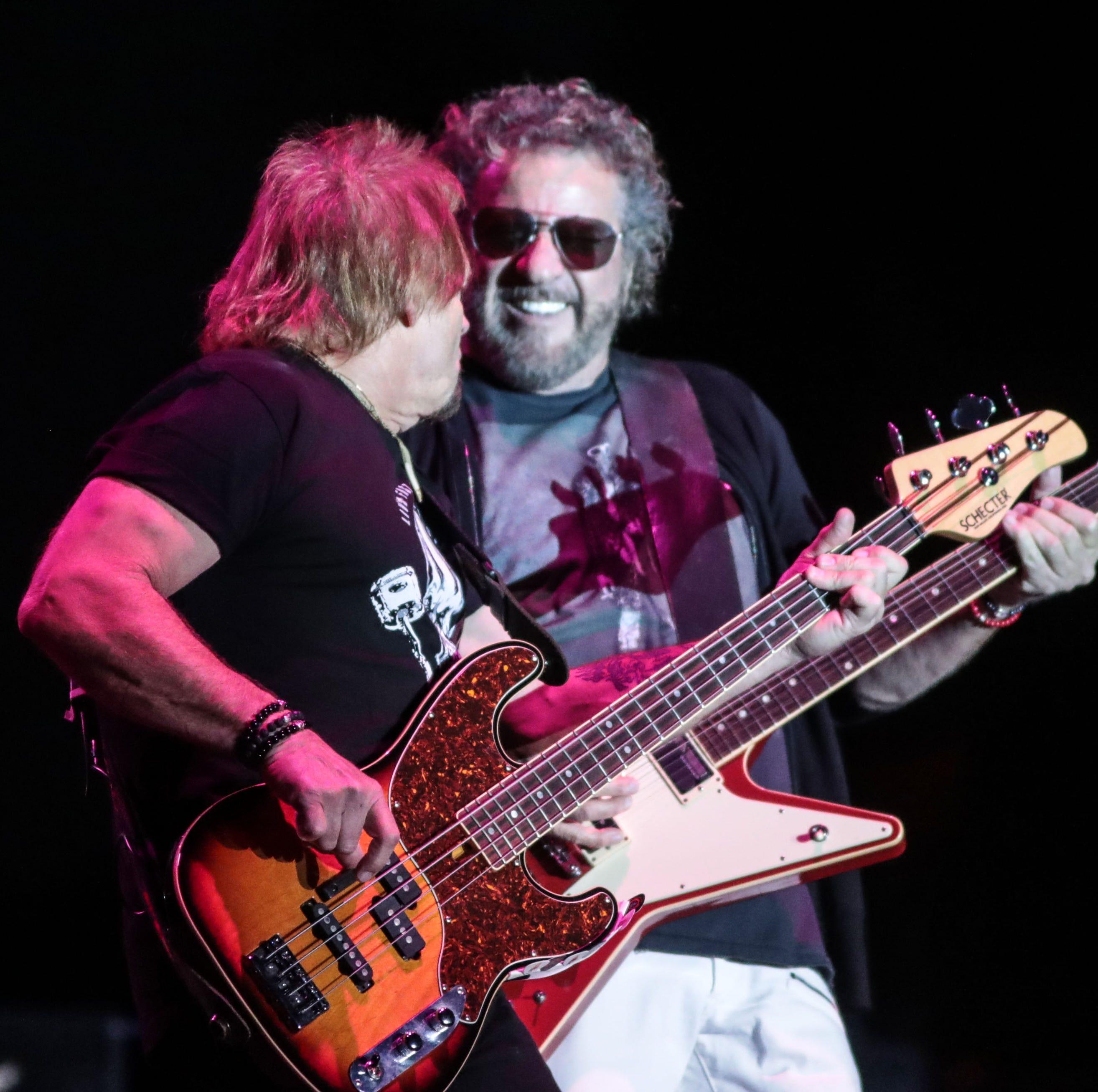Sammy Hagar comes full circle to prove he's a Desert Classic rocker