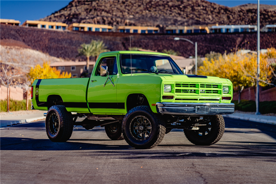 This 1987 Dodge Ram Custom Pickup will be auctioned at Barrett-Jackson in Scottsdale on Sunday.