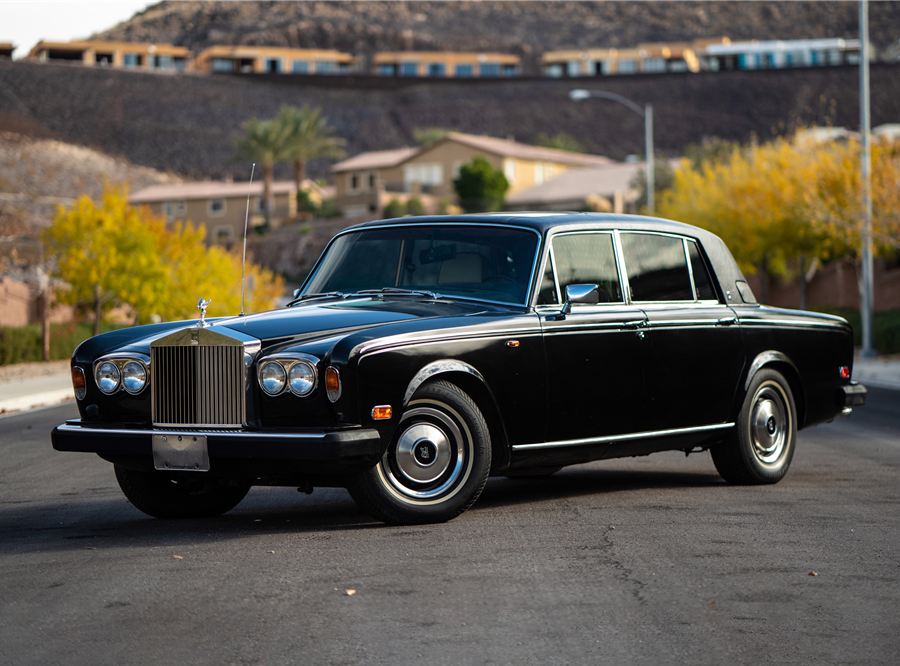 Erik Estrada's 1980 Rolls-Royce Silver Wraith II will be auctioned at Barrett-Jackson in Scottsdale on Sunday.