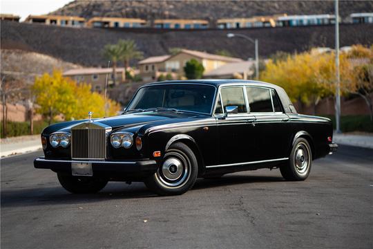 Erik Estrada's 1980 Rolls-Royce Silver Wraith II will be auctioned at Barrett-Jackson in Scottsdale on Sunday.
