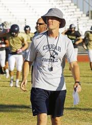 Raymond S Kellis High School football coach Shawn Copeland Tuesday, Nov. 1, 2016 in Glendale, Ariz.