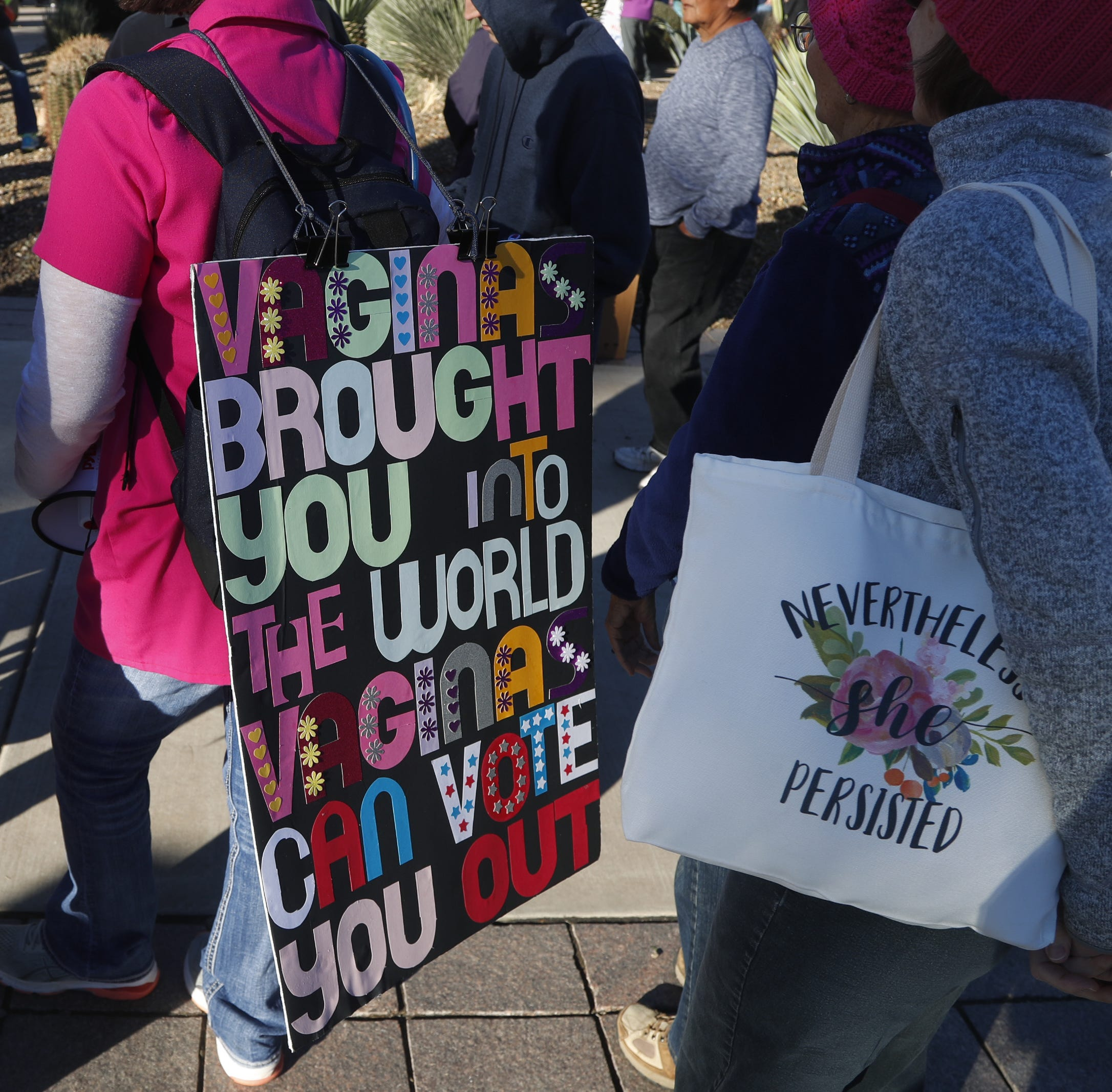 Live updates: Women's March heads back to the Arizona Capitol