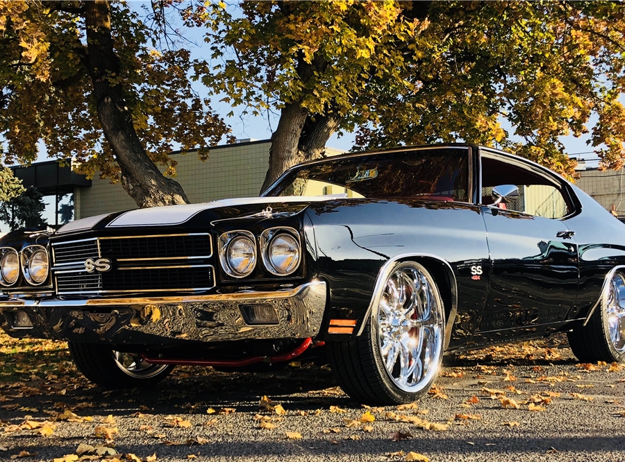 This 1970 Chevrolet Chevelle SS Custom Coupe will be auctioned at Barrett-Jackson in Scottsdale on Sunday.