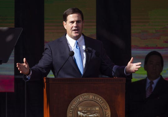 Fifty-four percent of all new funding went to K-12 education, Arizona Gov. Doug Ducey says.