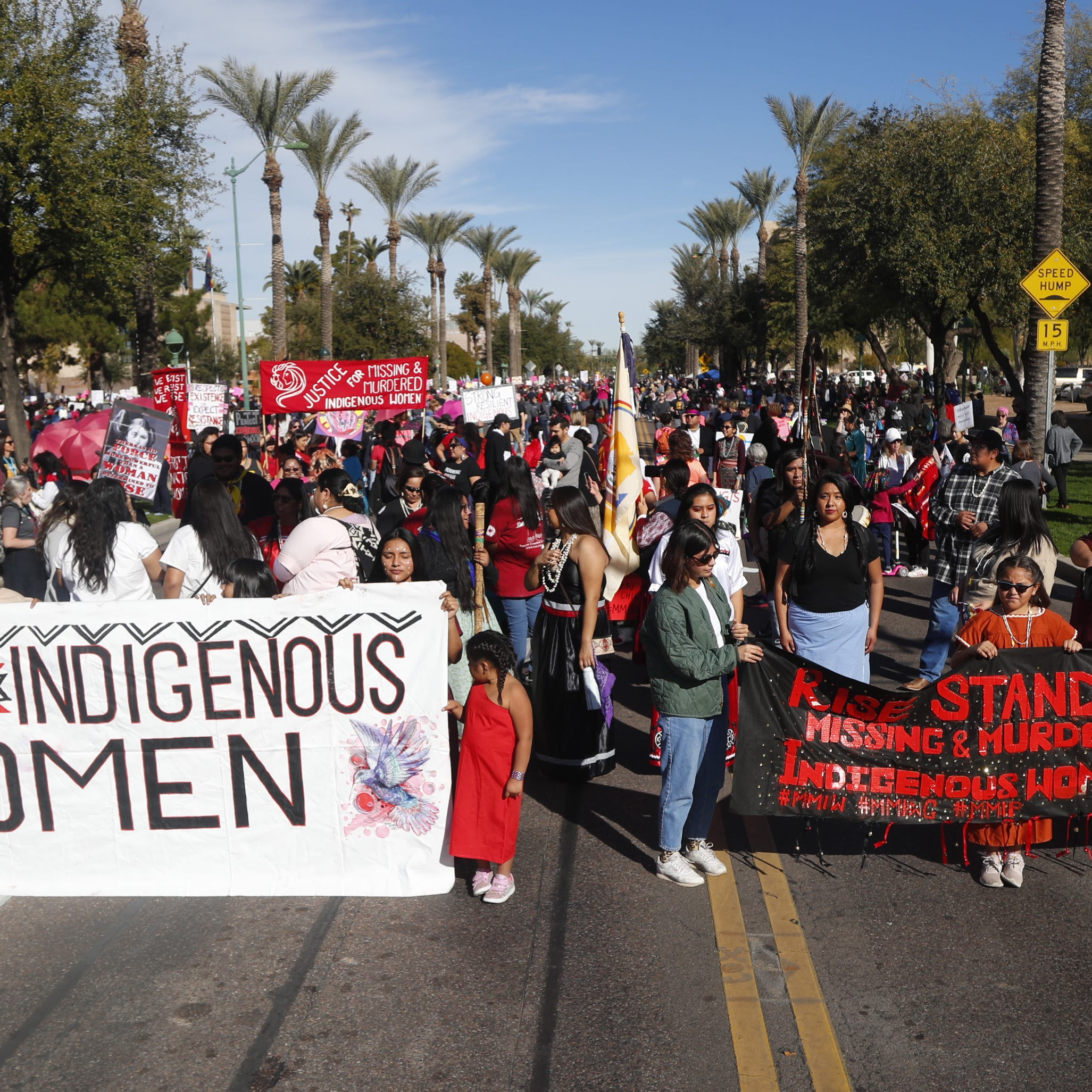 6,700 attended the Women's March in downtown Phoenix