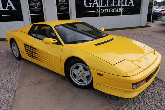 This 1991 Ferrari Testarossa Coupe will be auctioned at Barrett-Jackson in Scottsdale on Sunday.