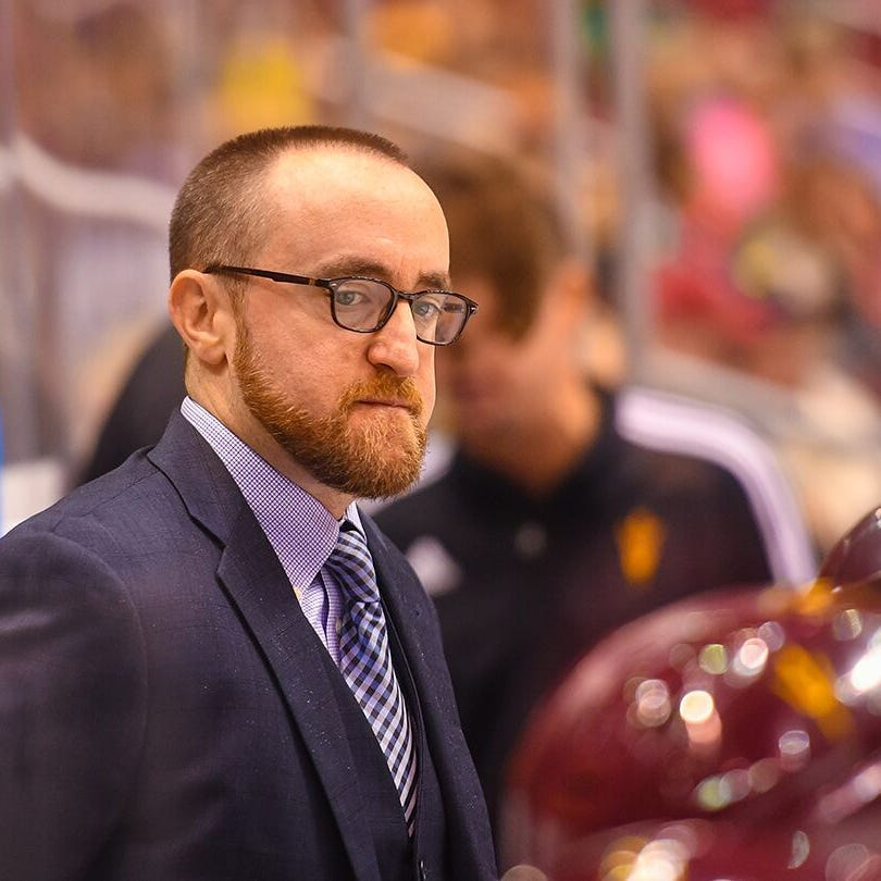 From the beginning, Greg Powers has been the 'only guy' to lead ASU hockey to national prominence