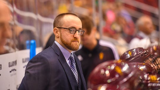 Arizona State hockey coach Greg Powers.