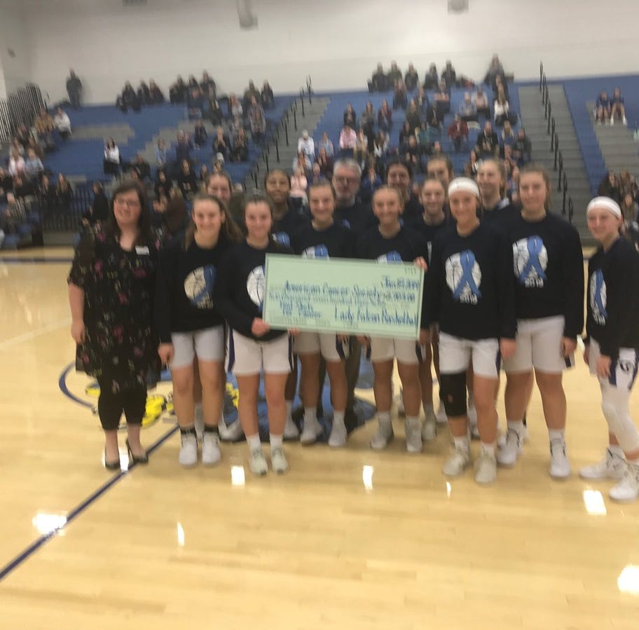 Cedar Crest girls stop Manheim Township while taking the fight to cancer