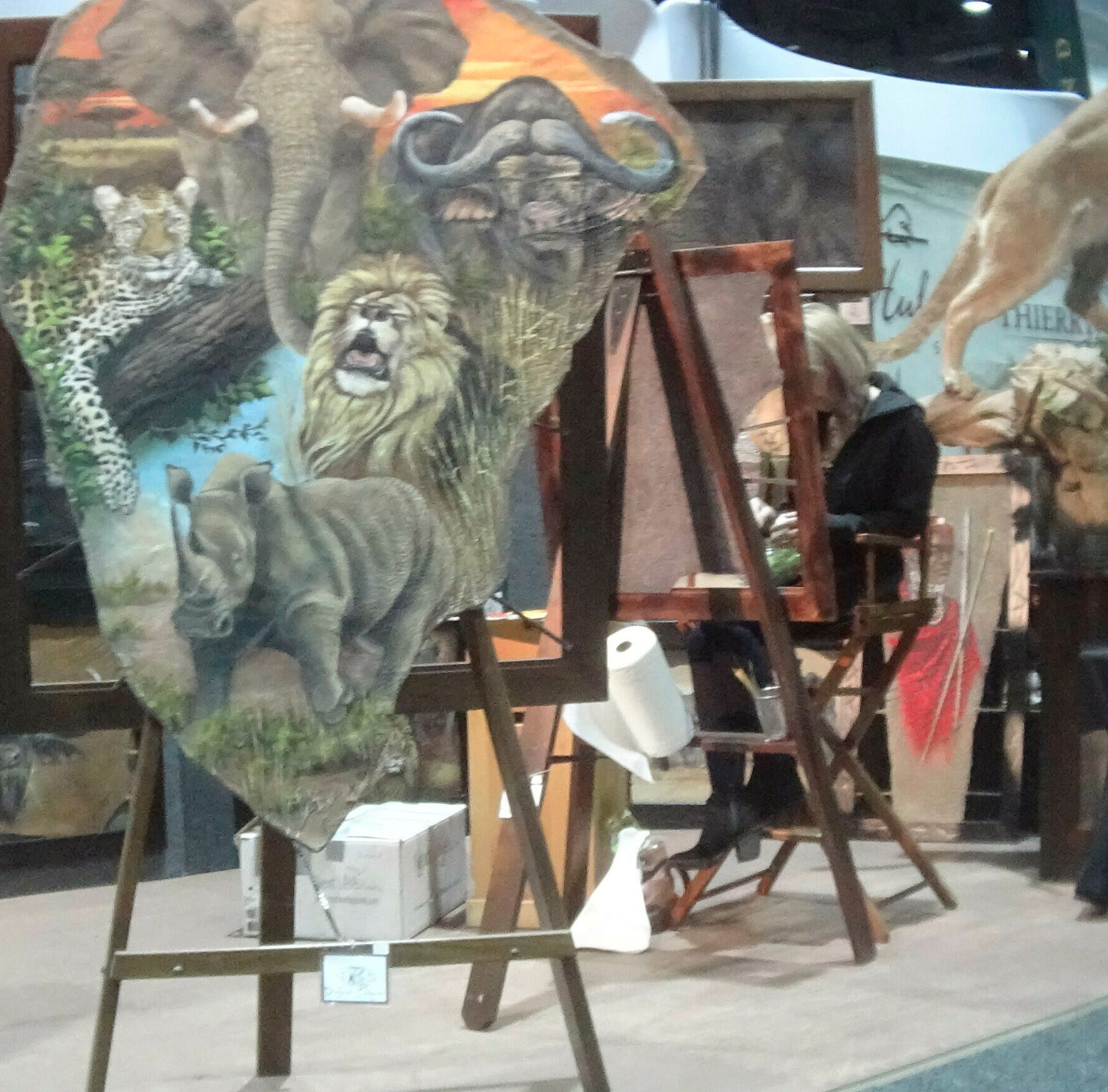 Products made of threatened African wildlife sold at Safari Club's Reno expo