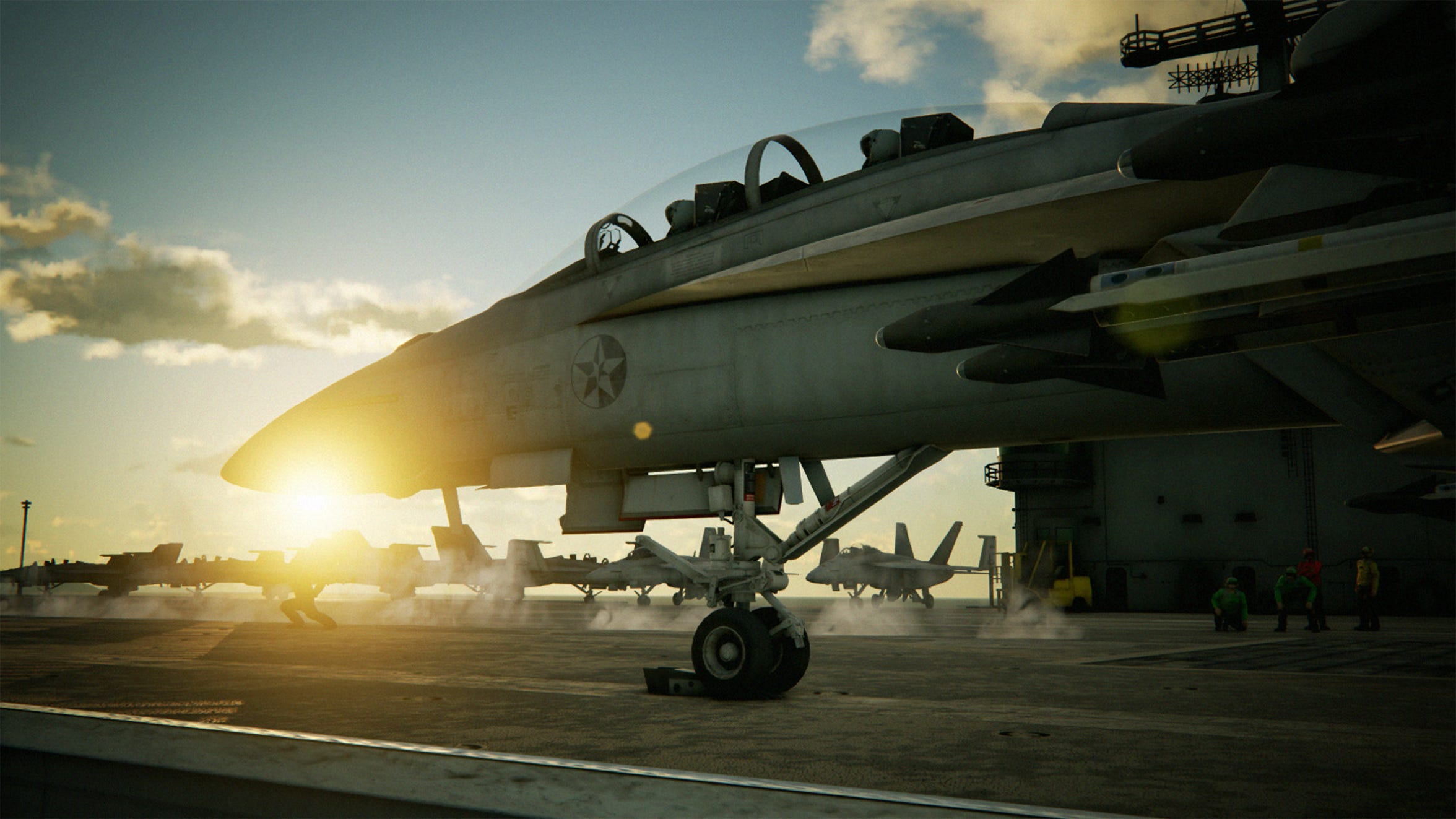 Ace Combat 7: Skies Unknown for PC, PS4 and Xbox One.
