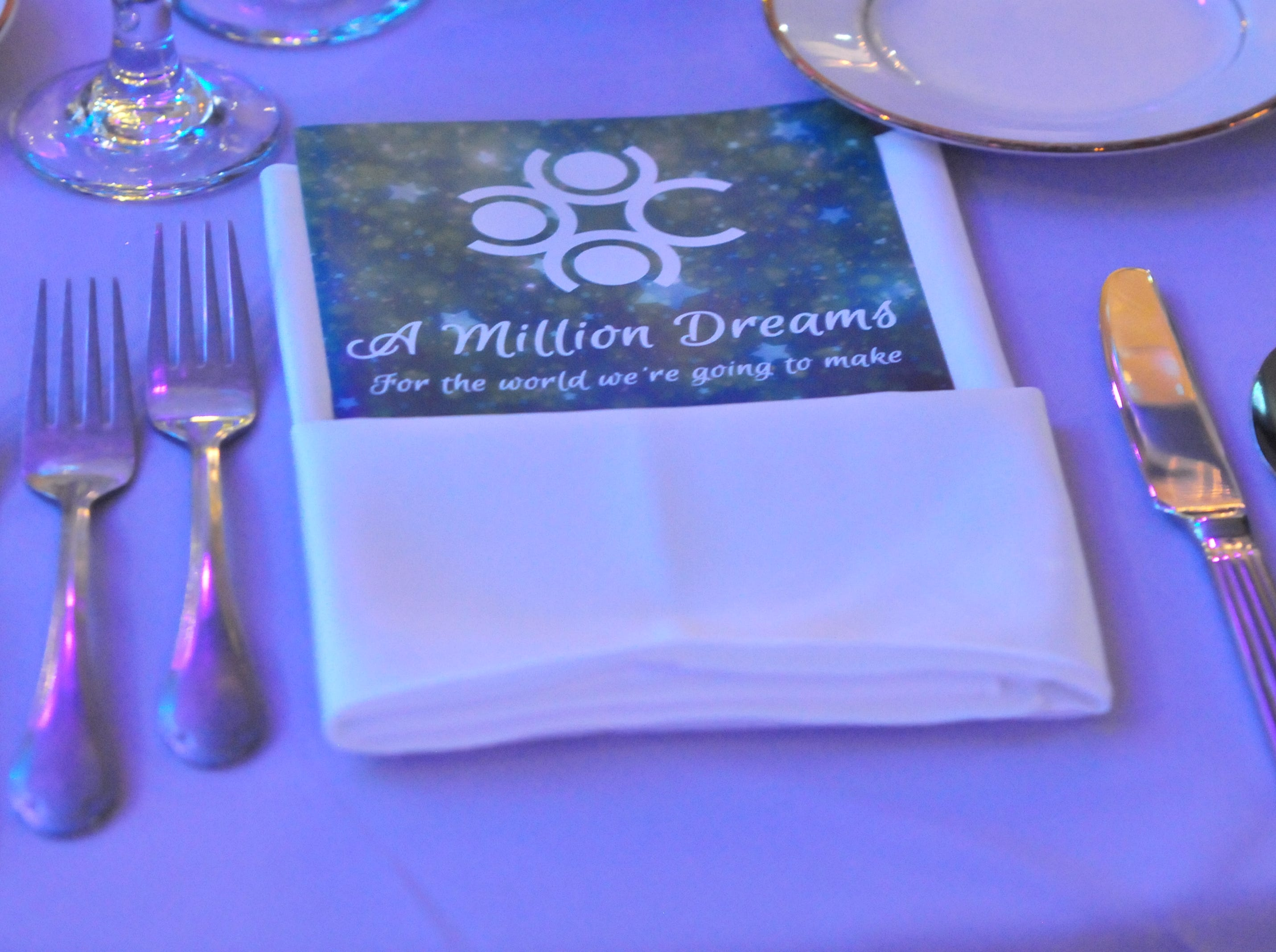 """The Wayne County Area Chamber of Commerce celebrated Friday night with its """"A Million Dreams"""" dinner inside Kuhlman Center at the Wayne County Fairgrounds."""