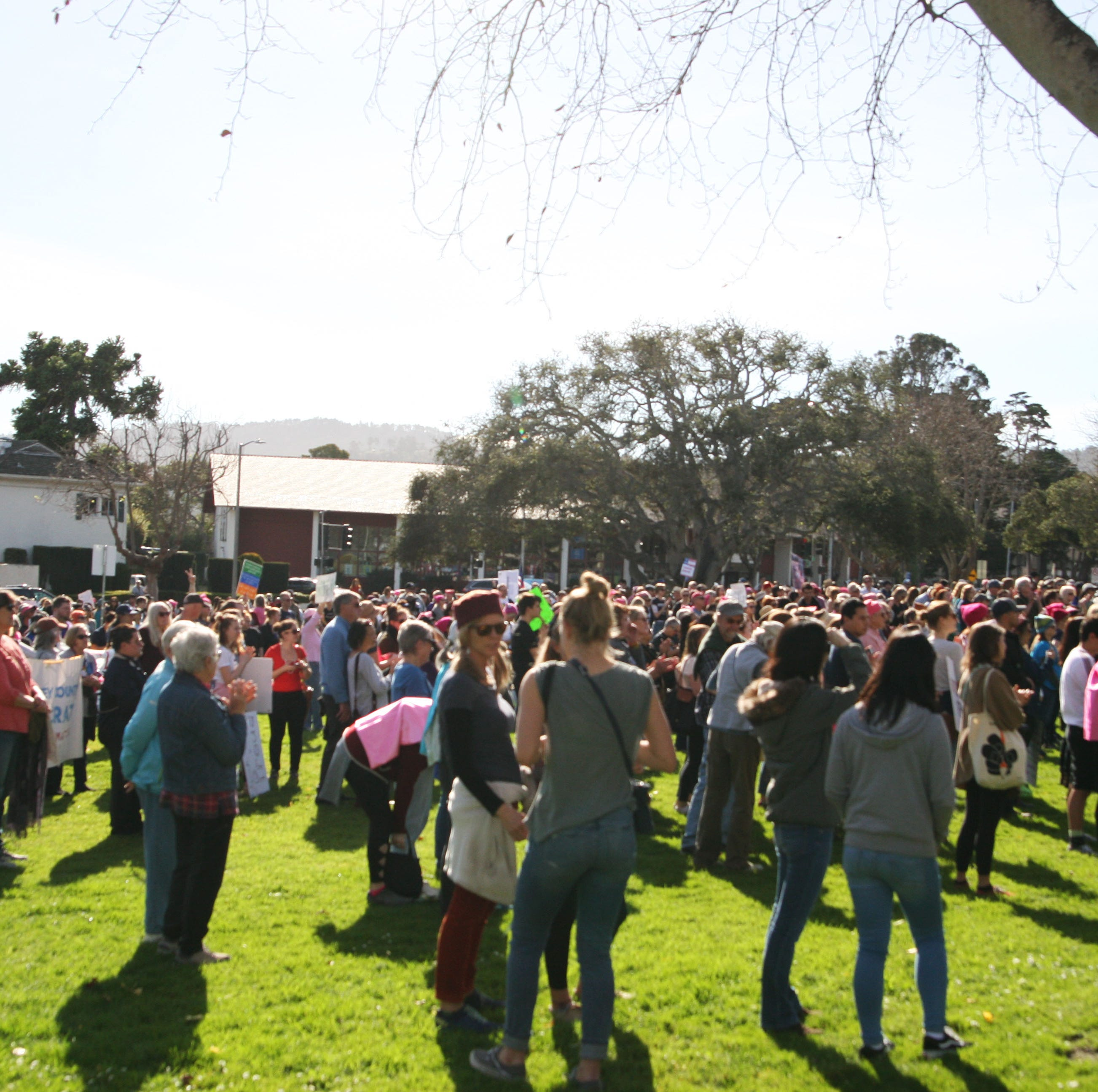 2019 Women's March Monterey draws crowd despite controversy with national organizers