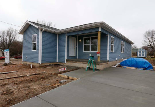 Images from the new Habitat for Humanity house on North Main in Springfield on January 18, 2019.
