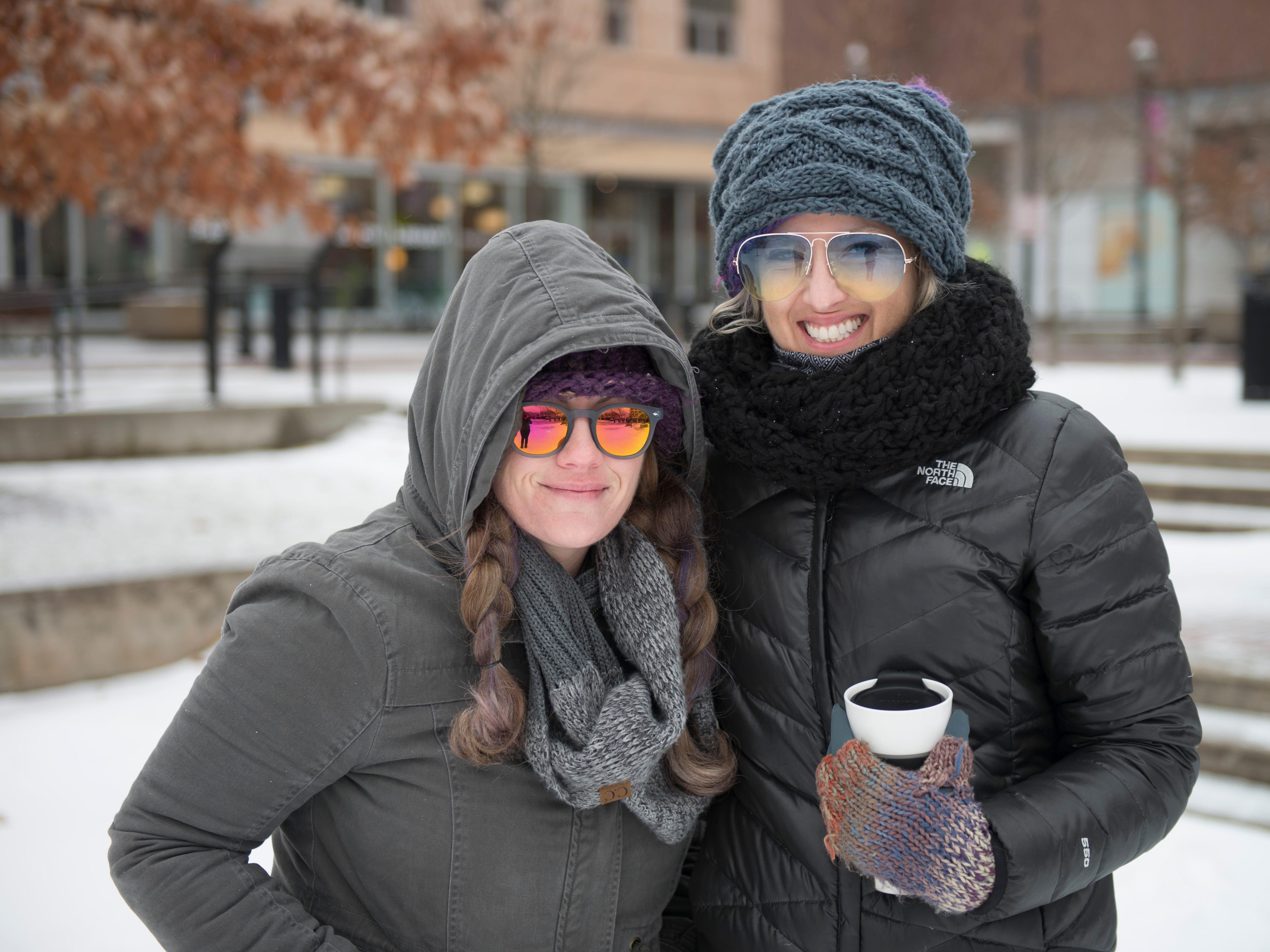 Kaycia and Katie