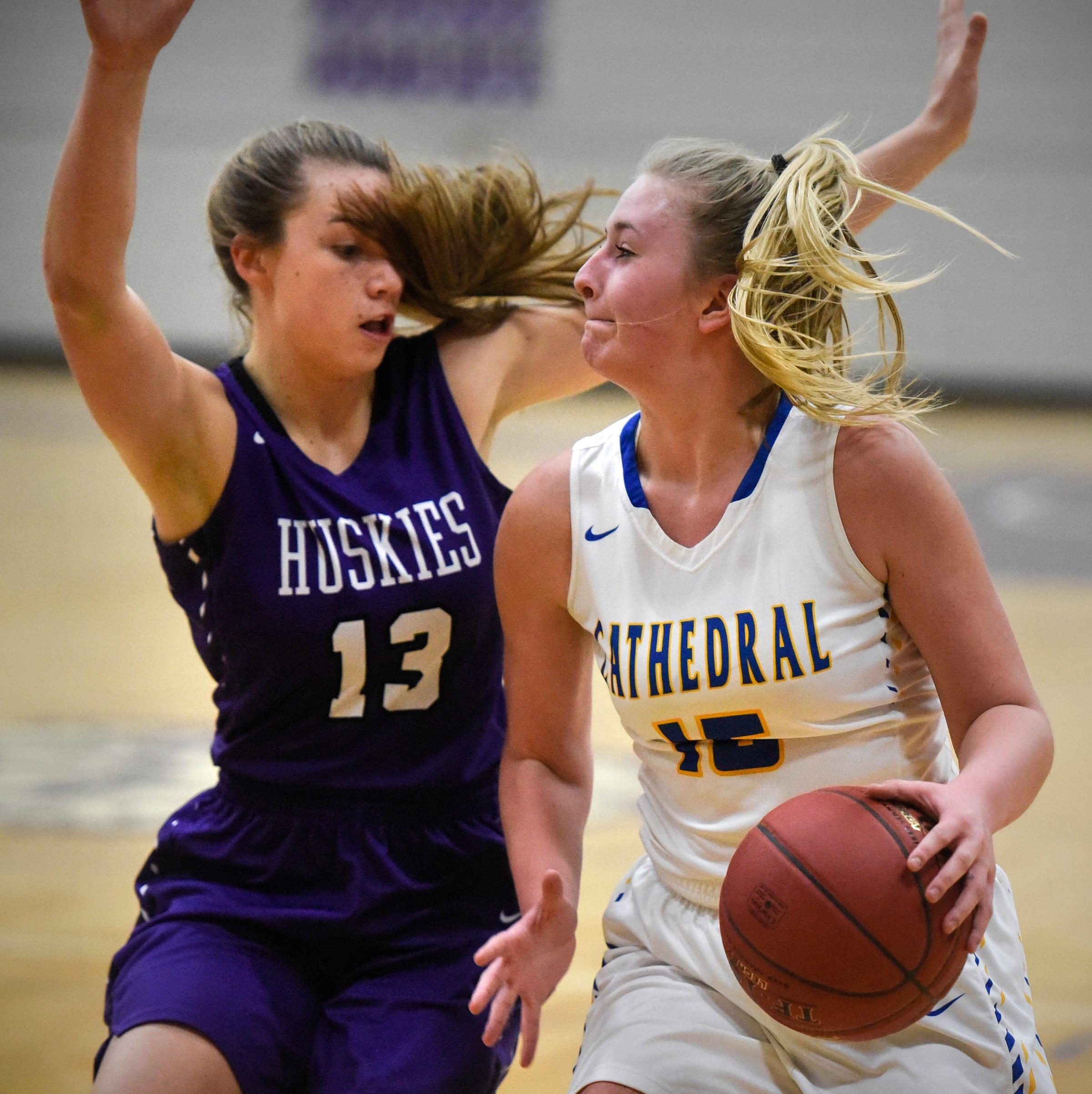 Girls basketball live updates: Pine City vs. Albany