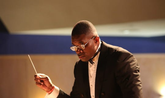 Shelby Chipman, professor of music and director of bands at Florida A&M University