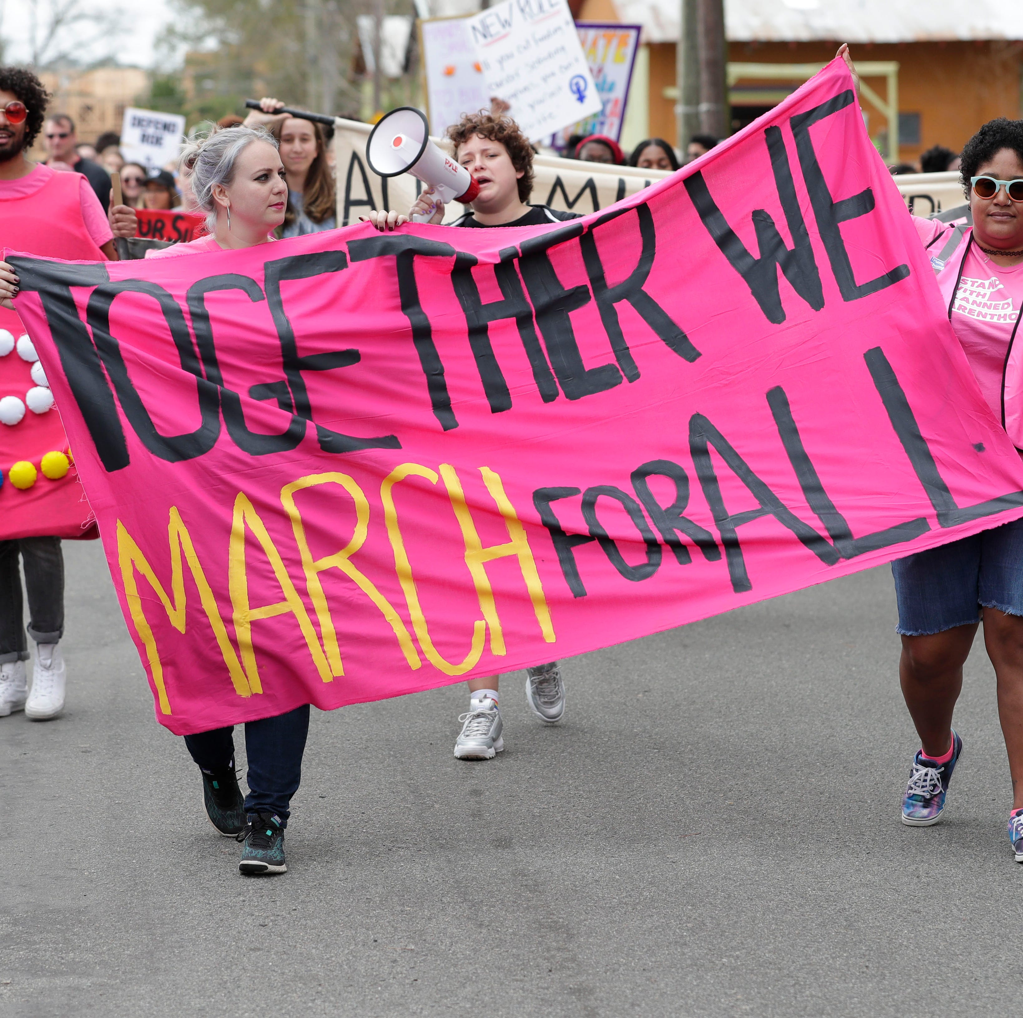 Tallahasseeans push for equality on 3rd anniversary of Women's March