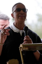 Tallahassee City Commissioner Elaine Bryant during Jan. 19, 2019 dedication ceremony renaming State Roads 273 and 371 in honor of the late Rev. C.K. Steele.