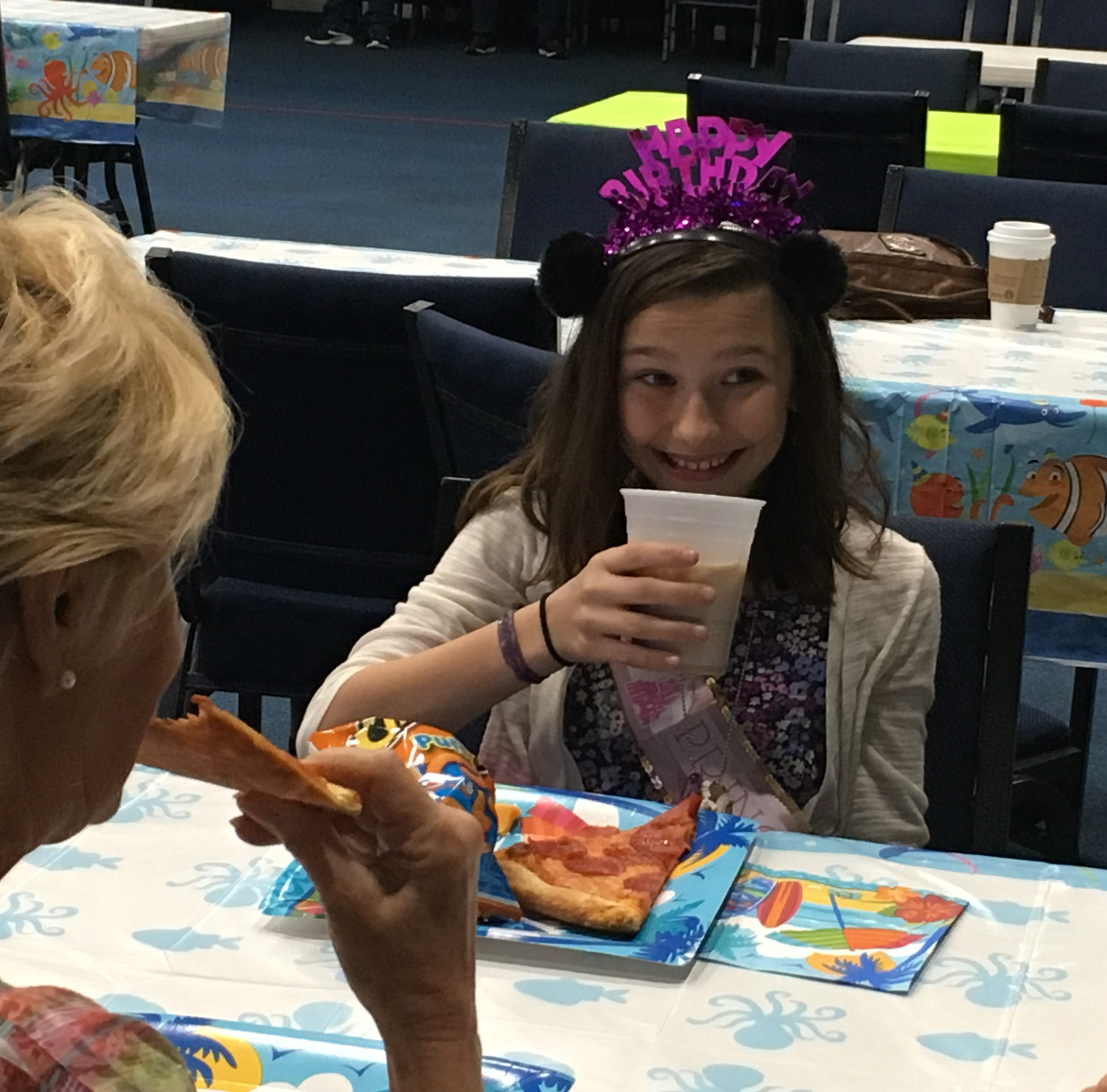 Daughter of late soldier gets surprise party of 10th birthday in Indian River County