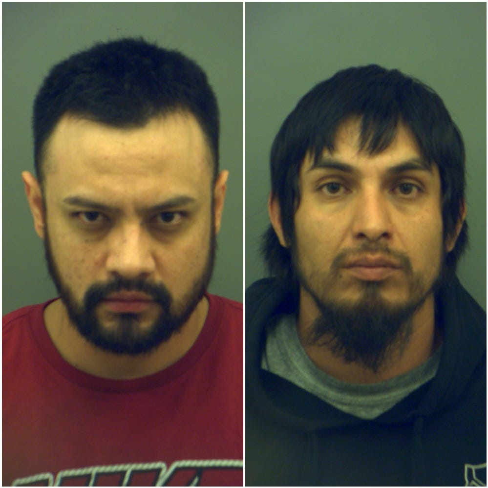 El Paso police traffic stop over license plate light leads to arrests of 2 in cocaine case