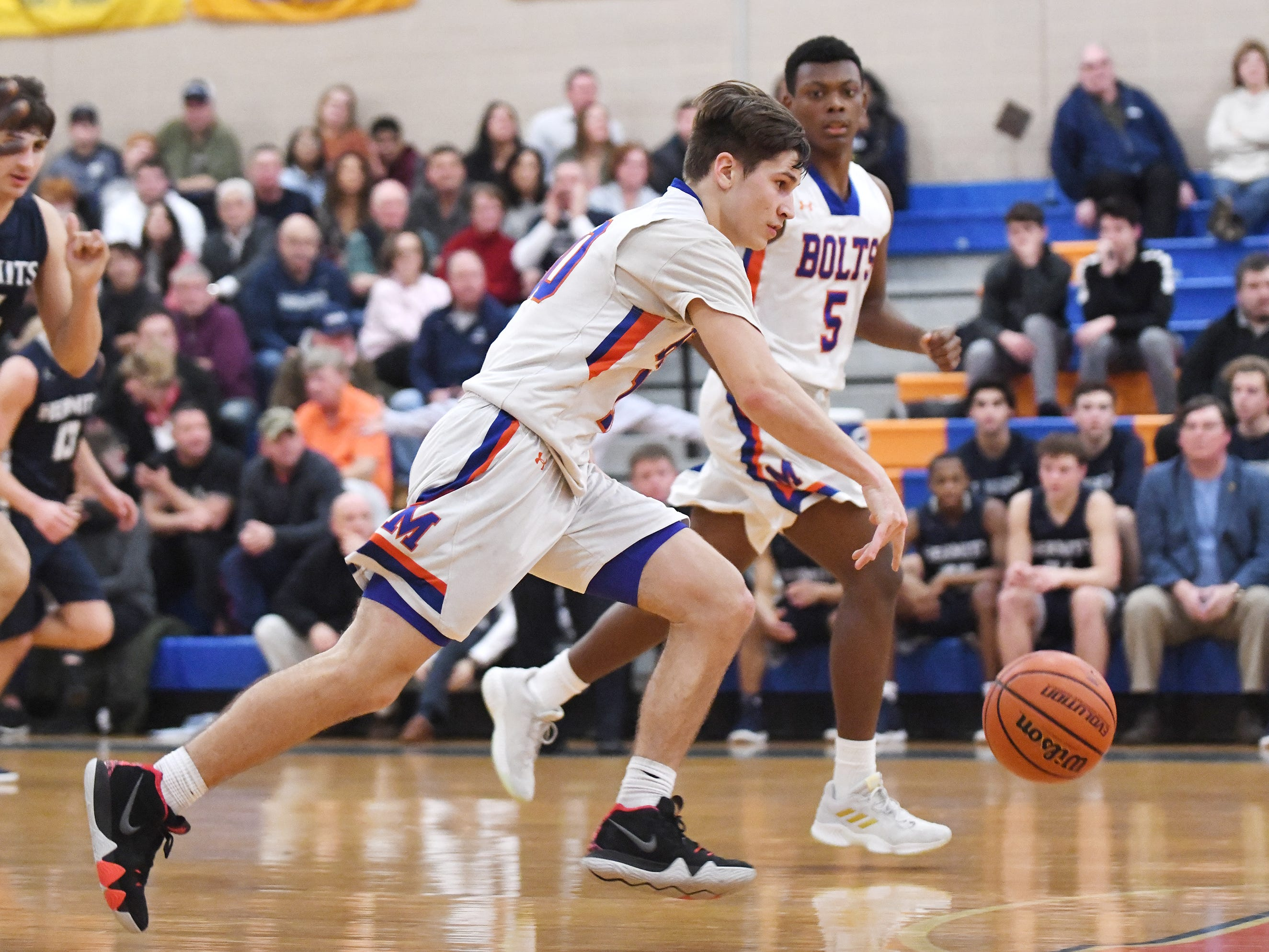 Visiting St. Augustine Prep topped Millville 66-53 on Friday, Jan. 18, 2019.