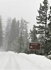 Major storms brought up to 3 feet of snowfall across Sequoia Nationa Park and the Sierra Nevadas this week.