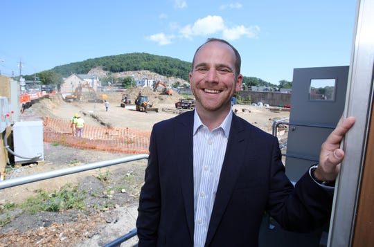 Joshua Goldstein, the developer of The Sheldon at Suffern Station and president of The Lynmark Group.