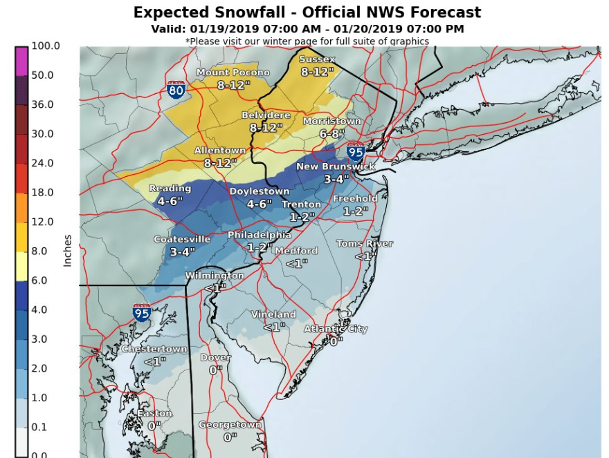 Less ice, more rain expected Saturday as winter storm moves east before Sunday freeze
