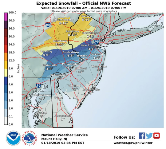 Expectations for snow and sleet in Delaware have diminished for the weekend, but plummeting temperatures are expected to freeze standing water from the heavy rain expected in its place.