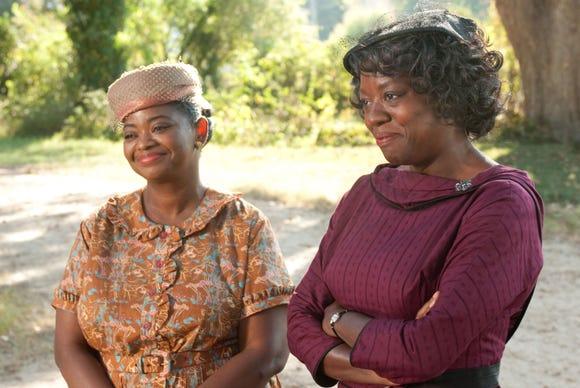 "Octavia Spencer, left, and Viola Davis star in ""The Help."""