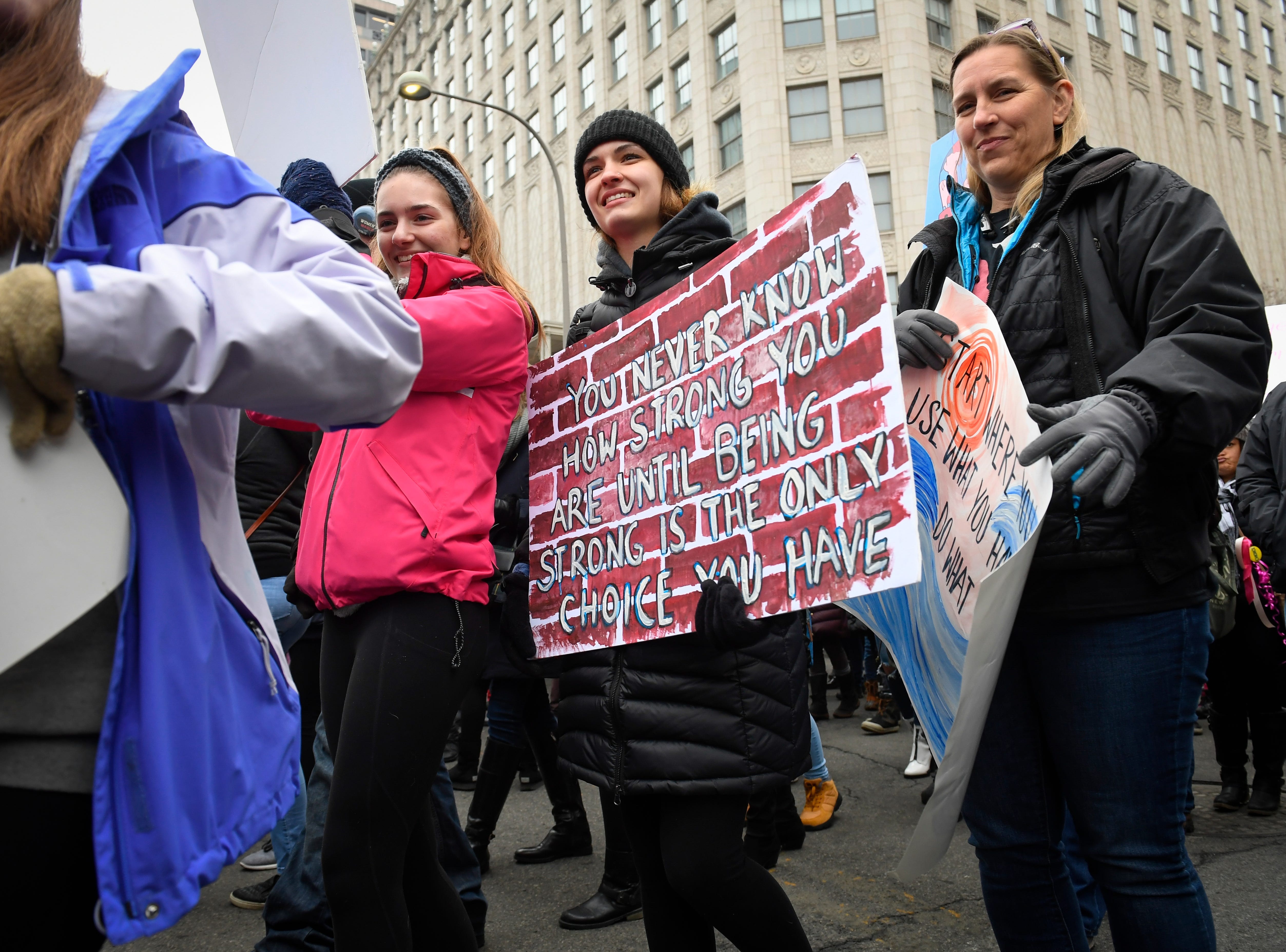 Without the motivation of TrumpÕs election or the midterms,  the marches this year face such obstacles as travel inconveniences from the federal shutdown as well as harsh weather Saturday from the Midwest to New England.