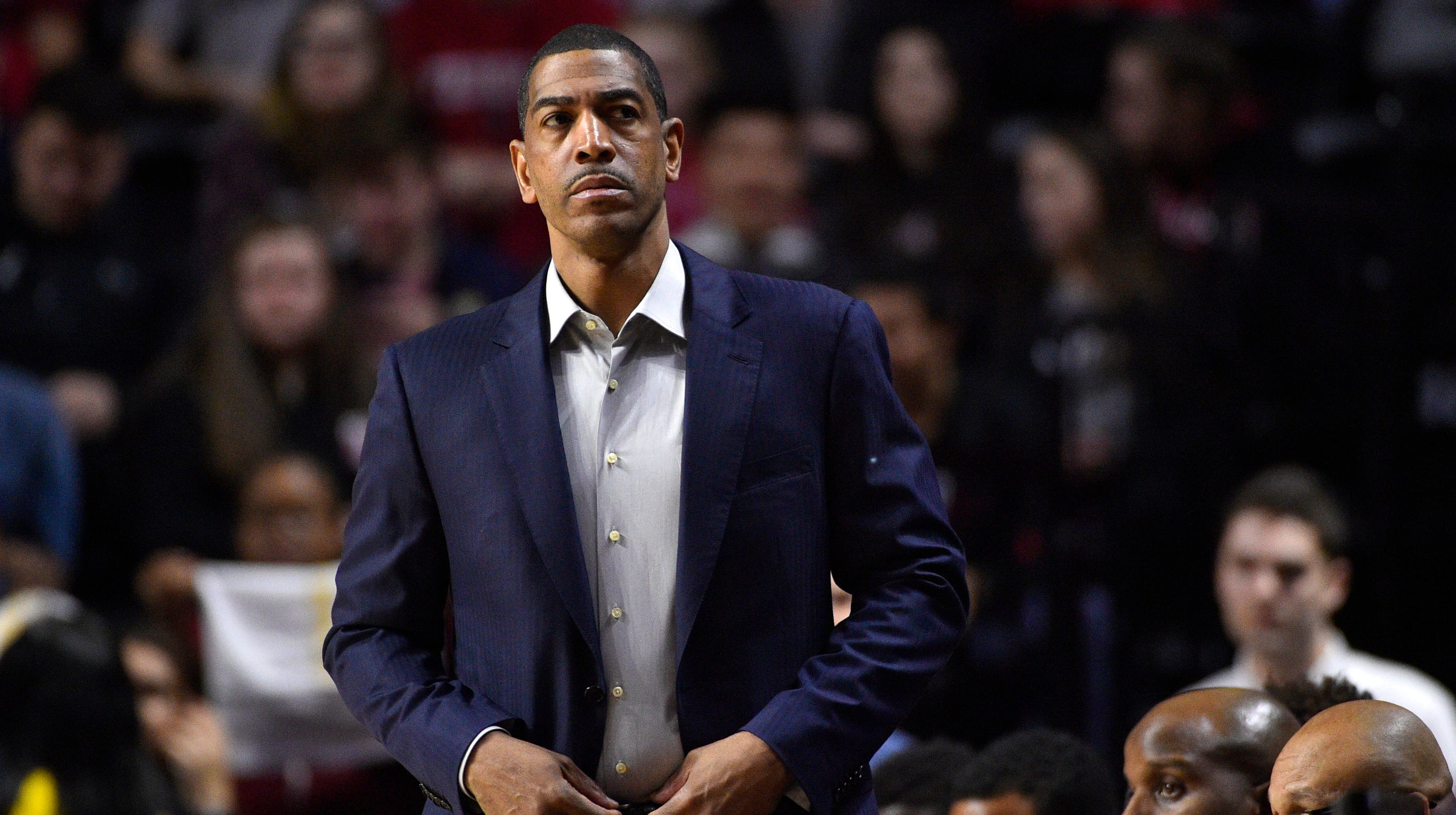 <p>Former UConn men's basketball coach Kevin Ollie to Trainer Overtime Elite, a league designed for top prep players thumbnail