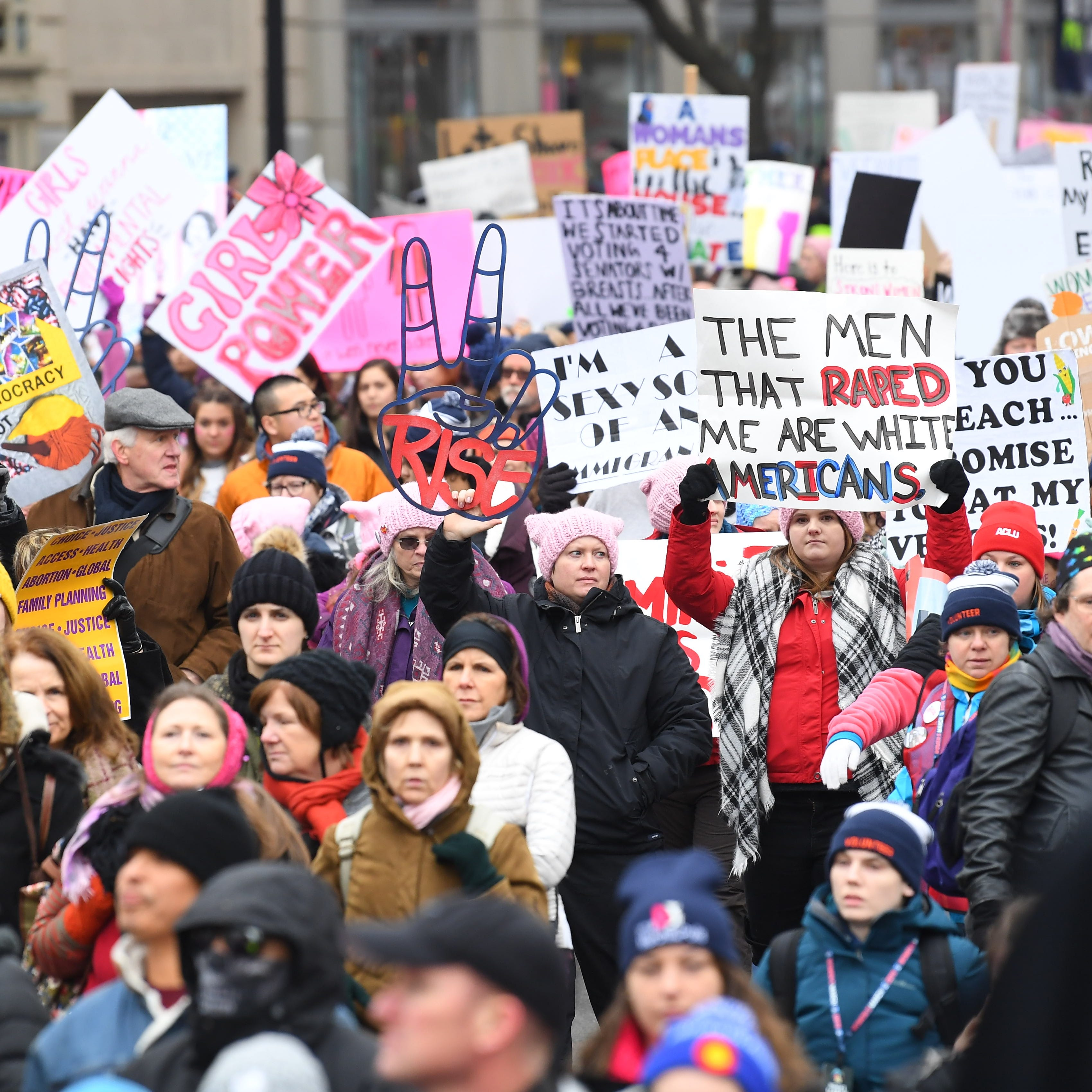 'Represent us!': Women's March returns amid controversy over anti-Semitism