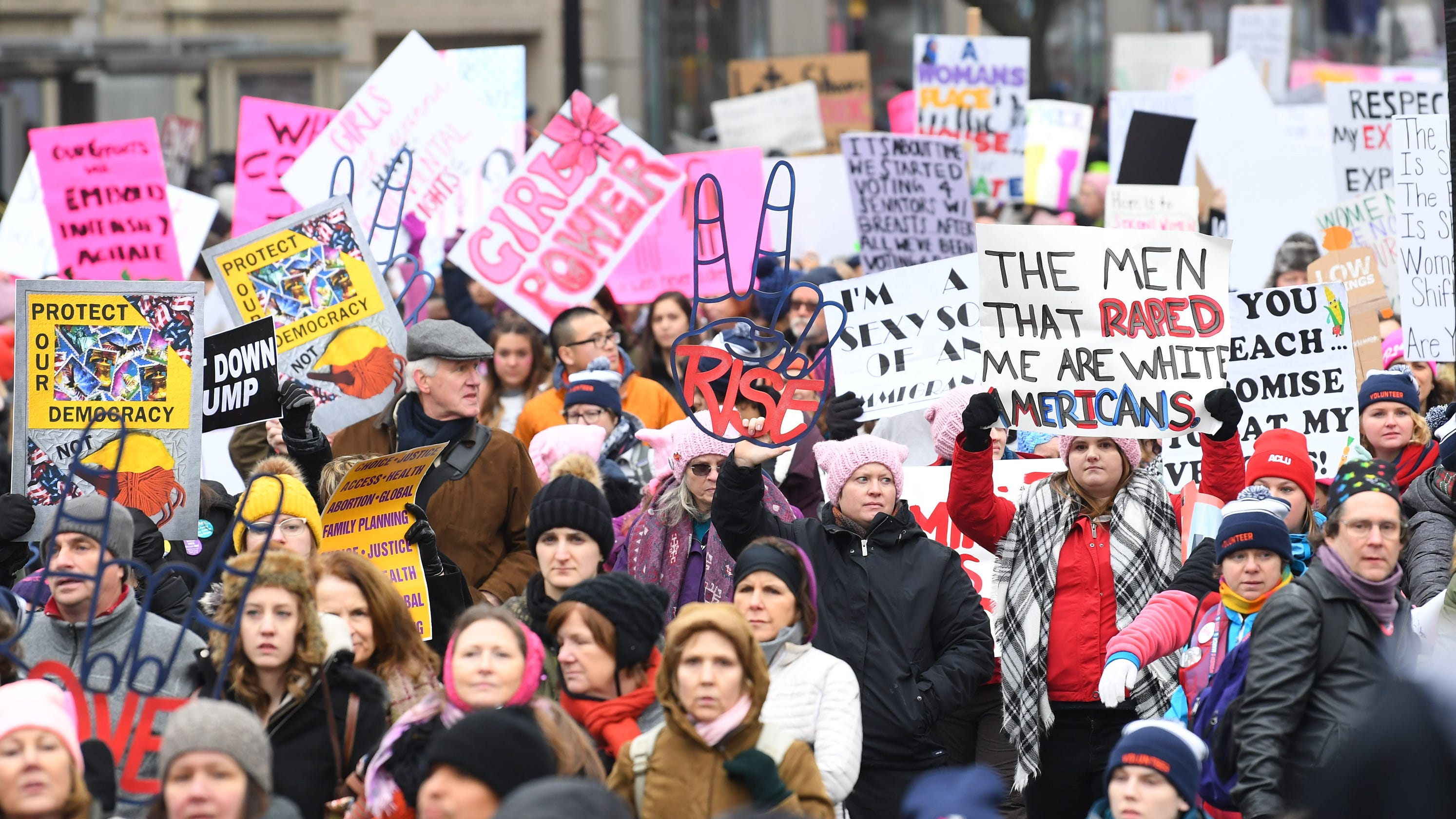 Madison Women Fighting Back By Taking >> Women S March 2019 Is Back Amid Divisions 350 Sister Marches Set