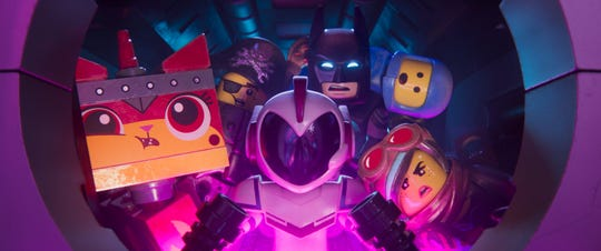 """Lego Movie 2"" is crammed with characters, now including a Supreme Court Justice."