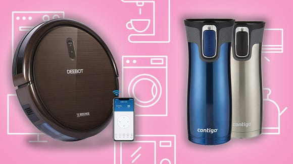 This Saturday, save big on robot vacuums, travel mugs, TVs, and more.