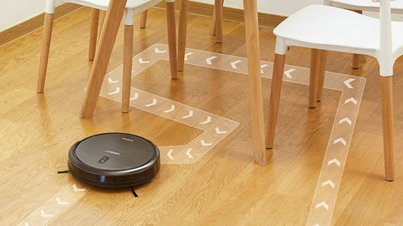 The N79S works with a smartphone app and Alexa for completely hands-free cleaning.