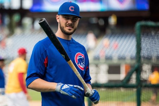 Kris Bryant becomes a free agent in 2020.