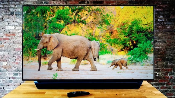 The big game will look even better on a new OLED TV.