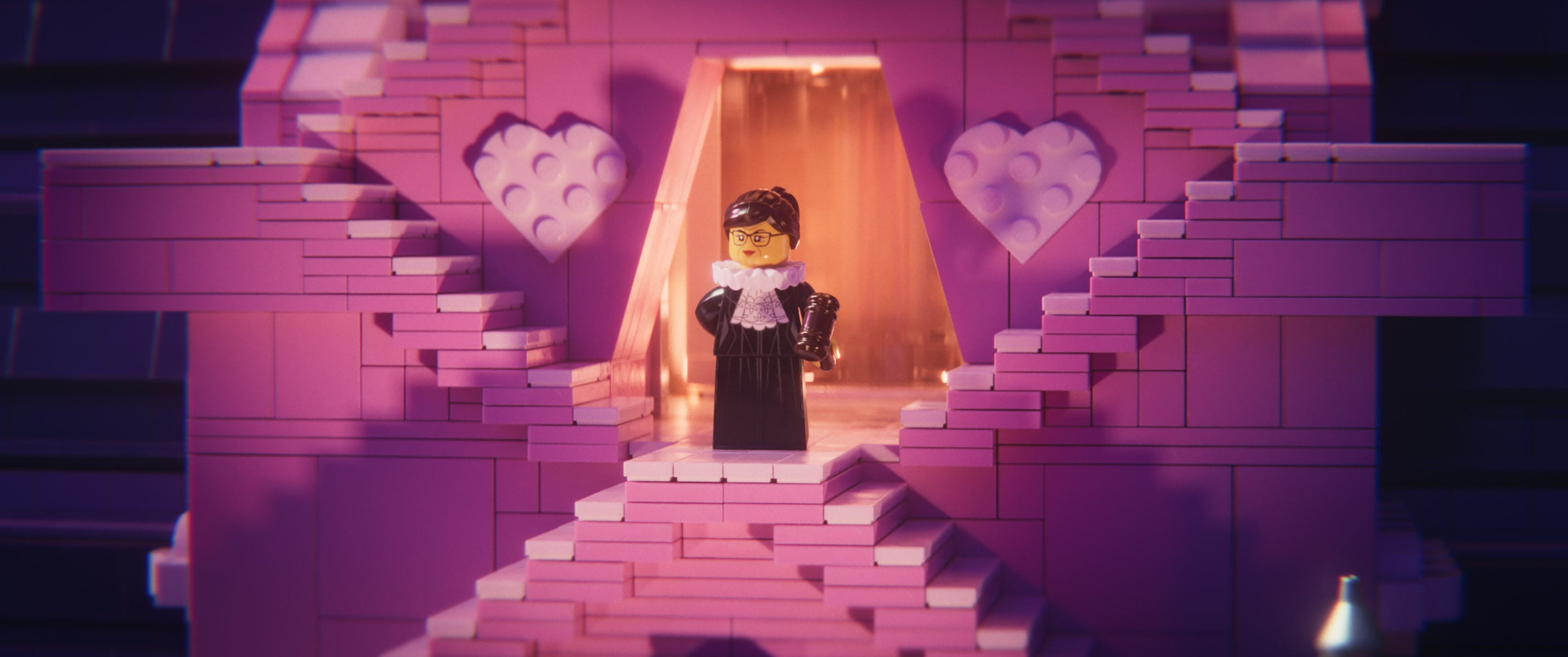 Ruth Bader Ginsburg makes supreme appearance in 'Lego Movie 2'