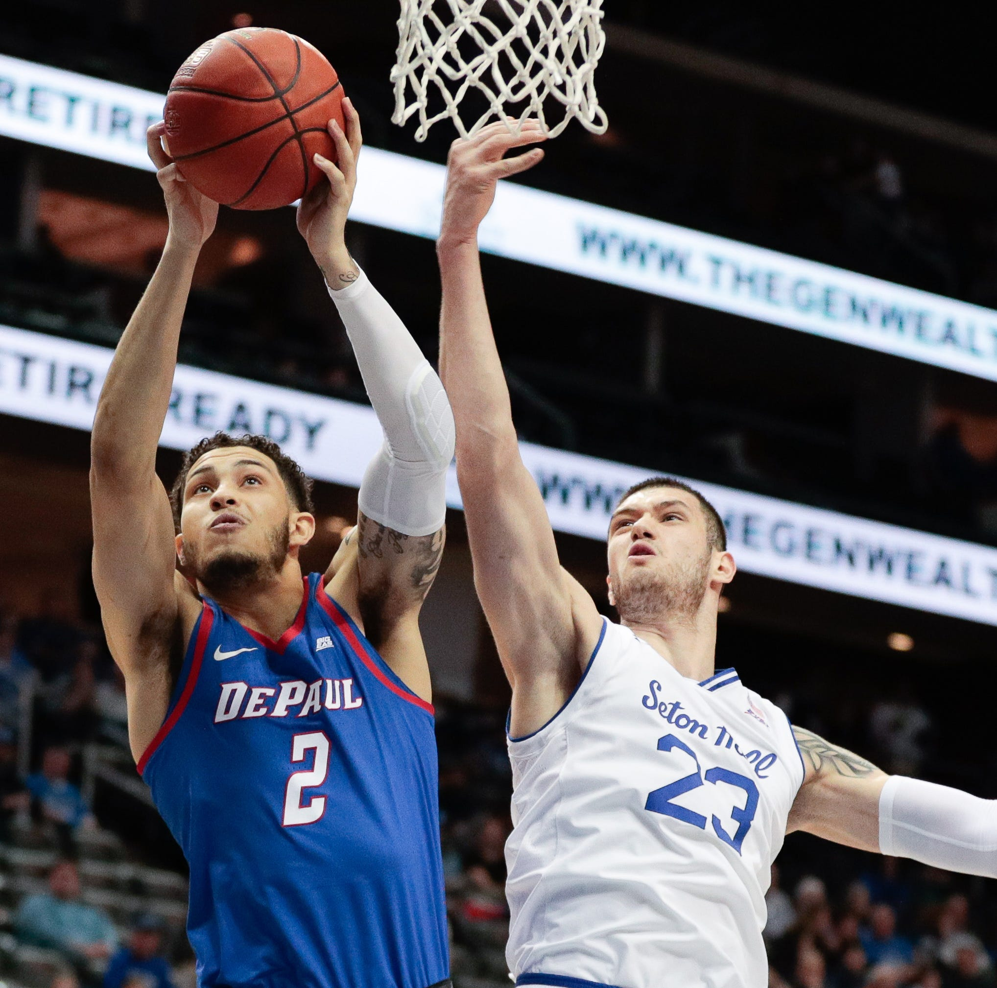 Seton Hall basketball clobbered on the glass, swept by DePaul