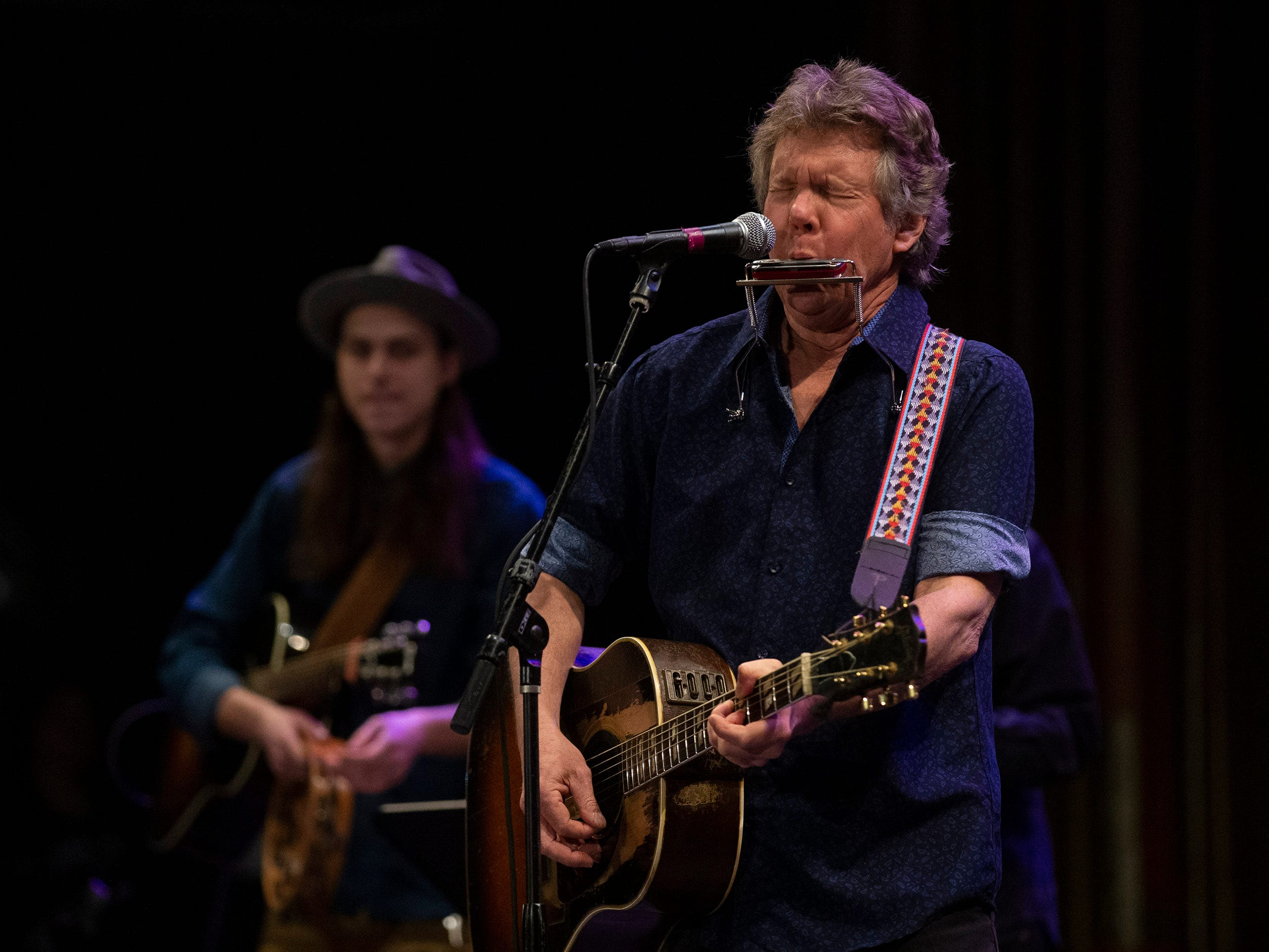 Steve Forbert performs at Bob's Birthday Bash at the Paramount Theatre. Performer scheduled to perform included Willie Nile, Joe Grushecky & The Houserockers, Jesse Malin, Low Cut Connie, Steve Forbert & The Renditions, James Maddock, John Eddie & His Dirty Ol' Band, Joe D'Urso & Stone Caravan, Dean Friedman, Ben Arnold.