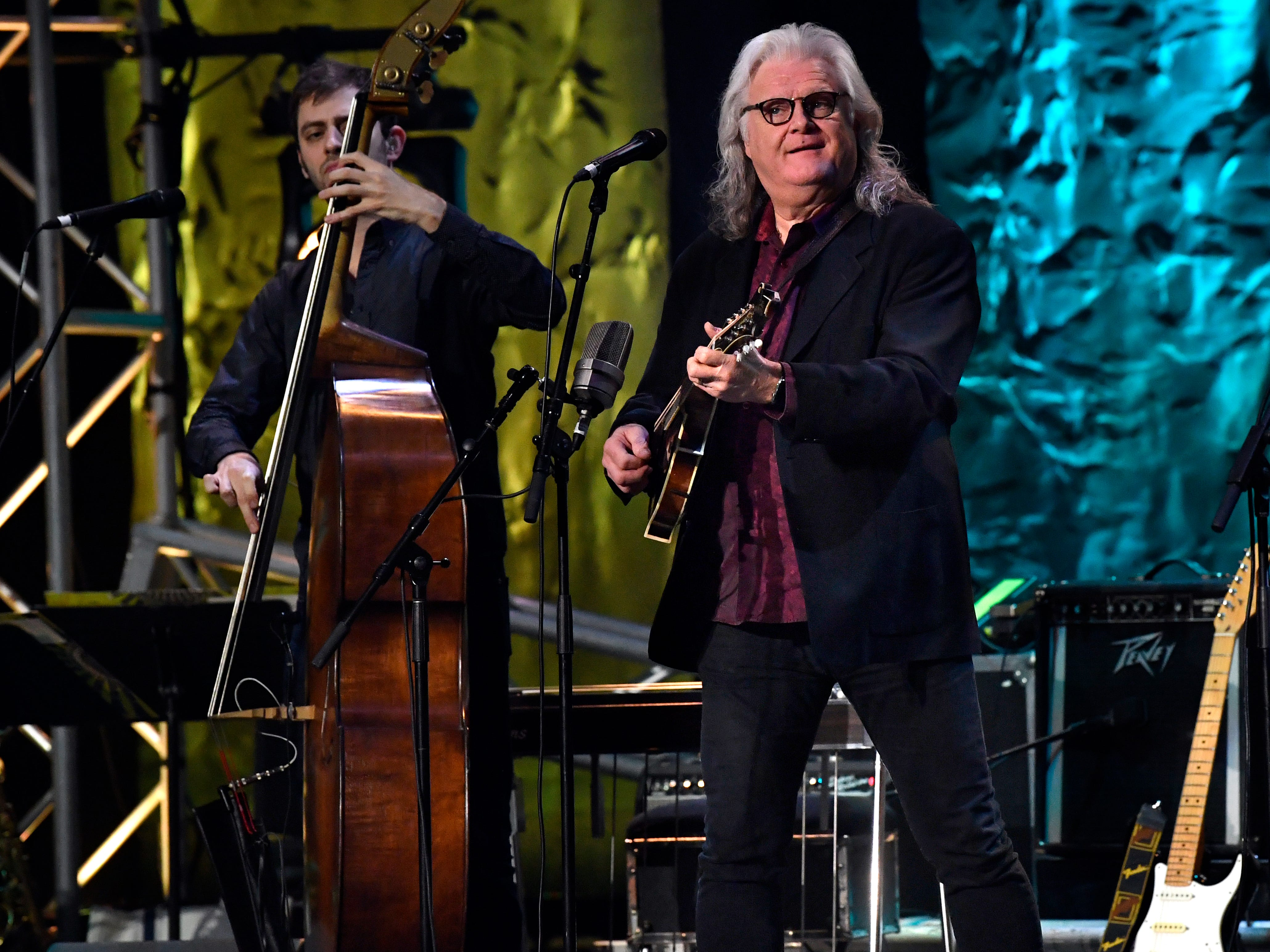 Ricky Skaggs performed an evening of bluegrass-inspired music during Saturday's West Texas Rehabilitation 2019 Telethon & Auction Jan. 20, 2019. This was the 49th year for the benefit.