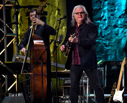Ricky Skaggs performed an evening of bluegrass-inspired music Saturday night at the Abilene Convention Center.