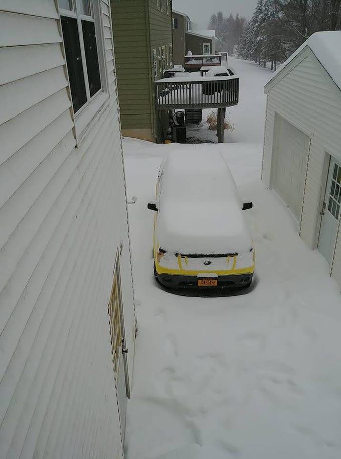 Snow in Apalachin