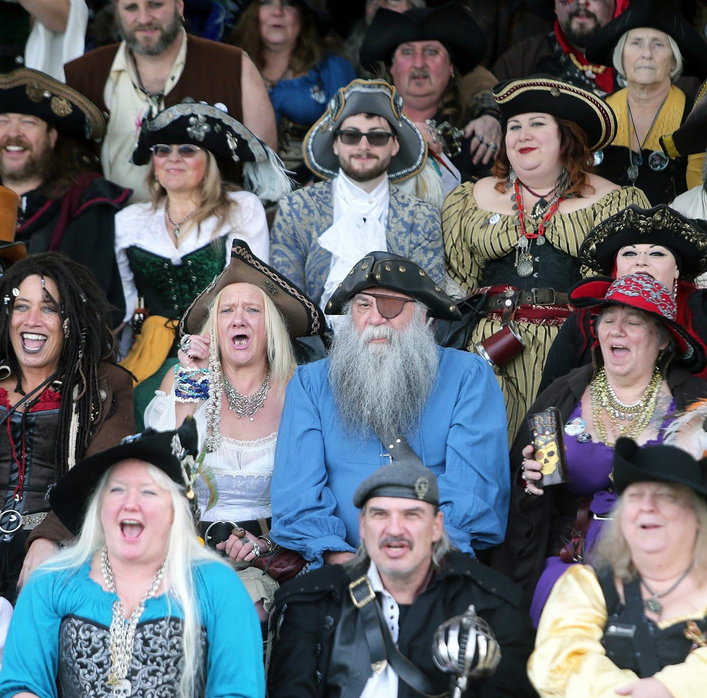 Pirates descend on Port Arrrchard for weekend celebration