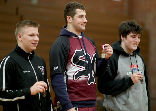 South Kitsap's Ethan Fragoso is 33-6 headed into Saturday's regional wrestling tournament.